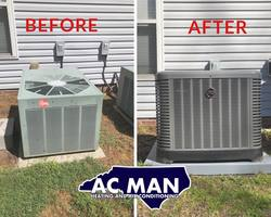 AC MAN HEATING AND AIR CONDITIONING Fayetteville 19