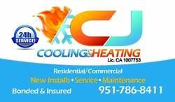 C J COOLING & HEATING lic#1007753 Santa Ana 10