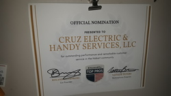 Cruz Electric and Handy Services, LLC Hobart 1