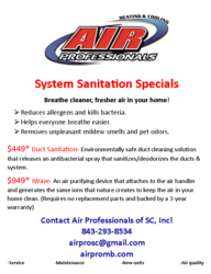 Air Professionals of SC, Inc Myrtle Beach 0
