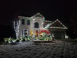 St Nicks Holiday Lighting Fenton 23